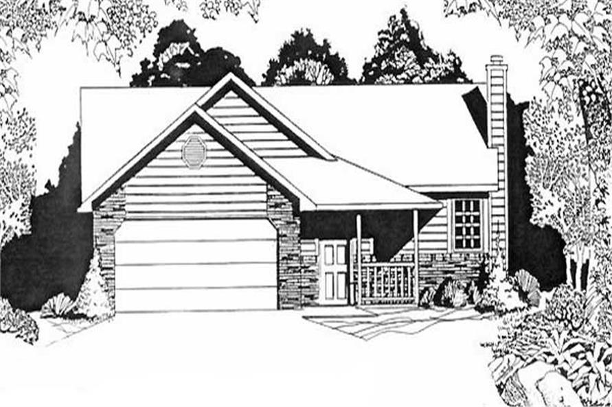 Main image for house plan # 16503