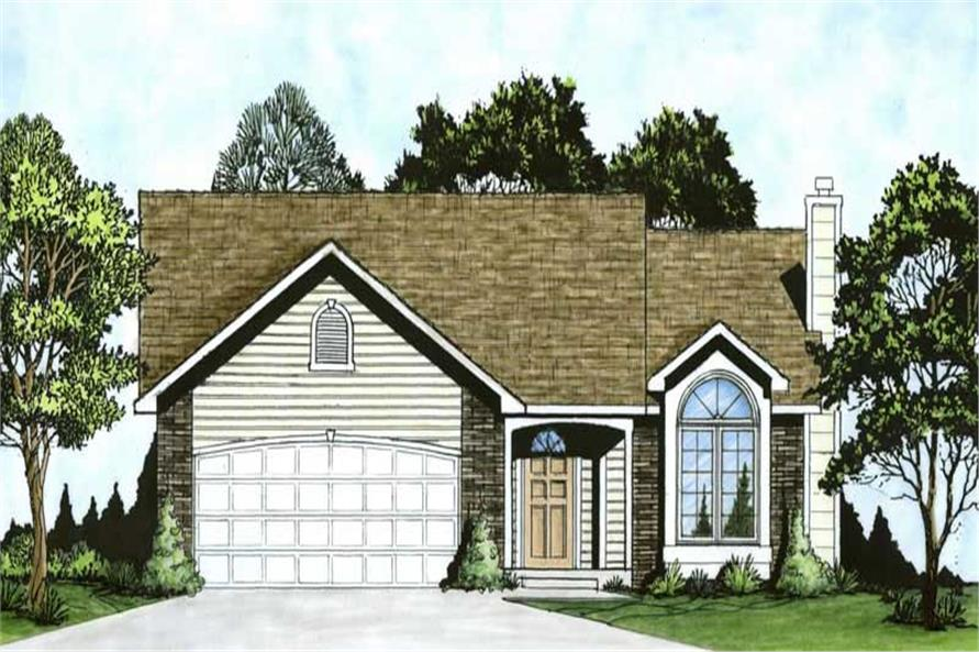 Main image for house plan # 16506