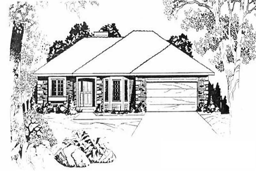 Main image for house plan # 16602