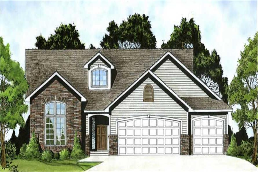 Main image for house plan # 103-1106