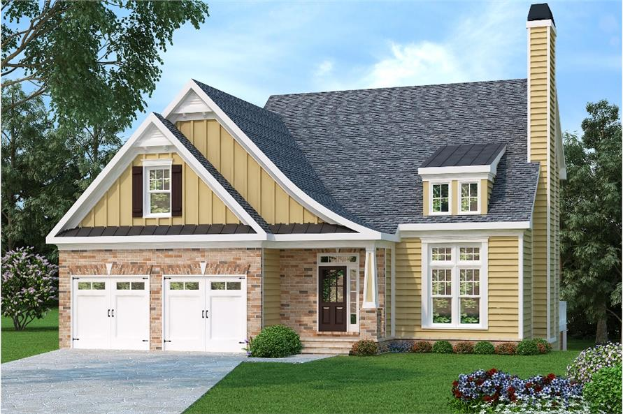 104-1002: Home Plan Rendering