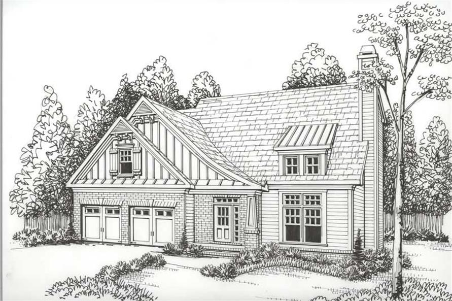 House Plan Northwood Front Elevation