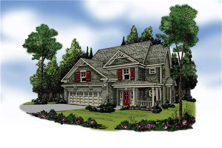 104-1005: Home Plan Rendering