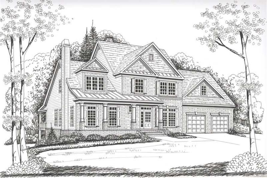 House Plan Stratford Front Elevation