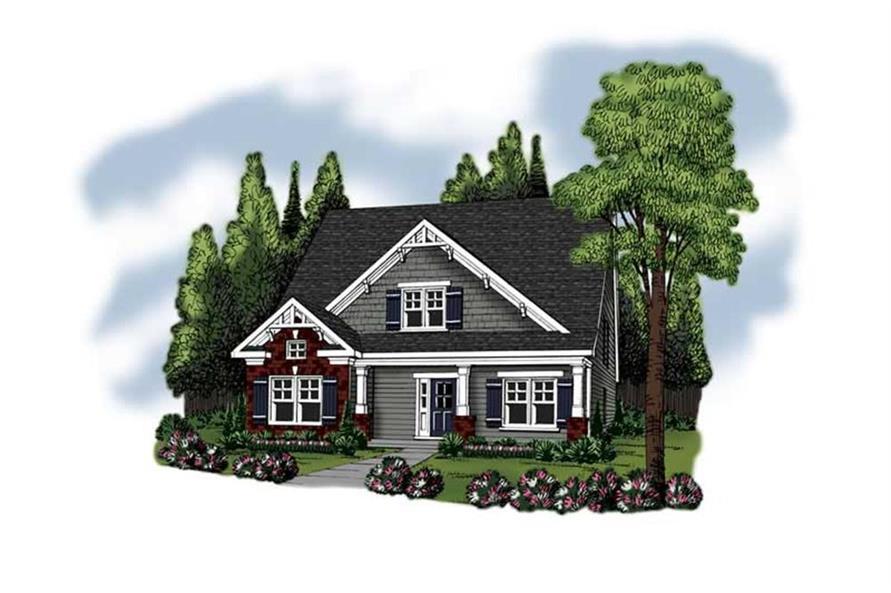 104-1008: Home Plan Rendering
