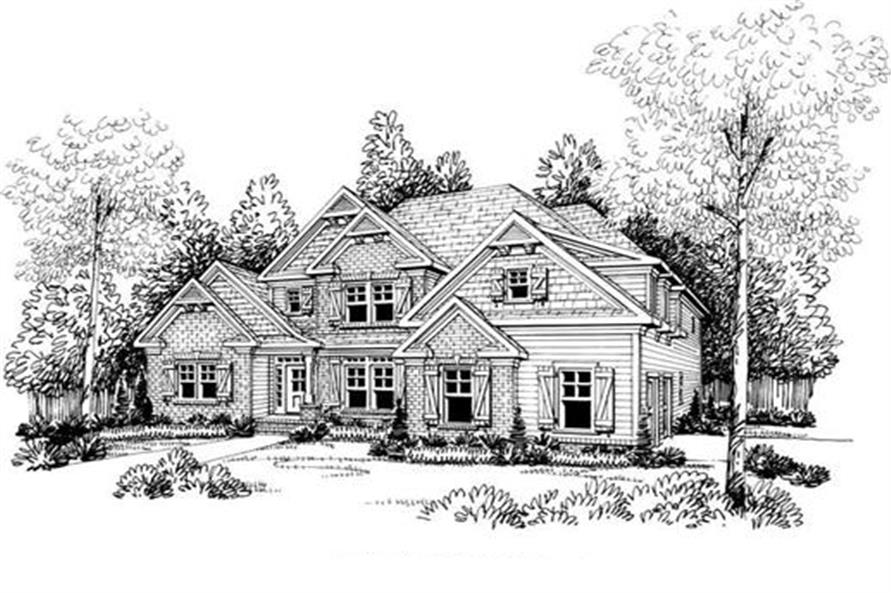 104-1010: Home Plan Rendering