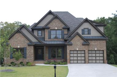 3-Bedroom, 2276 Sq Ft Country House Plan - 104-1010 - Front Exterior
