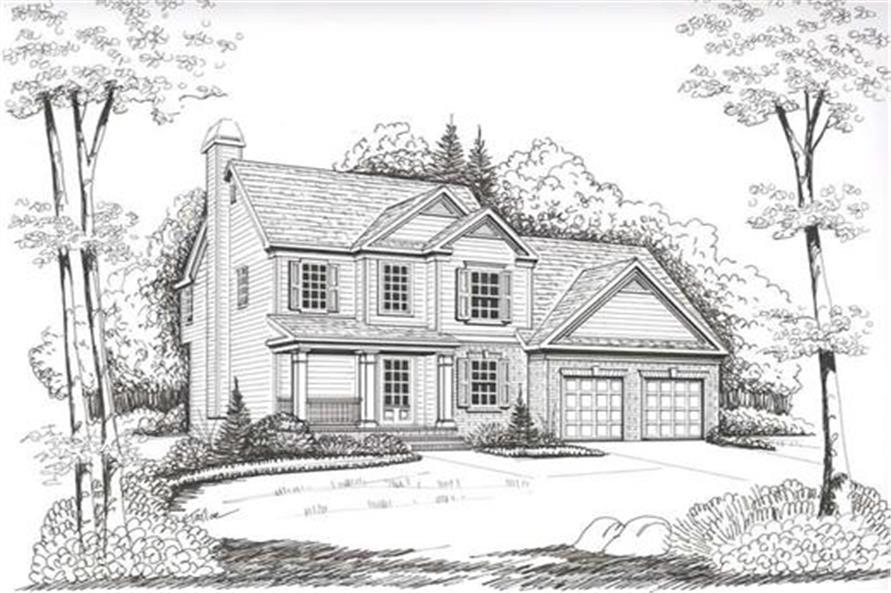 104-1012: Home Plan Rendering