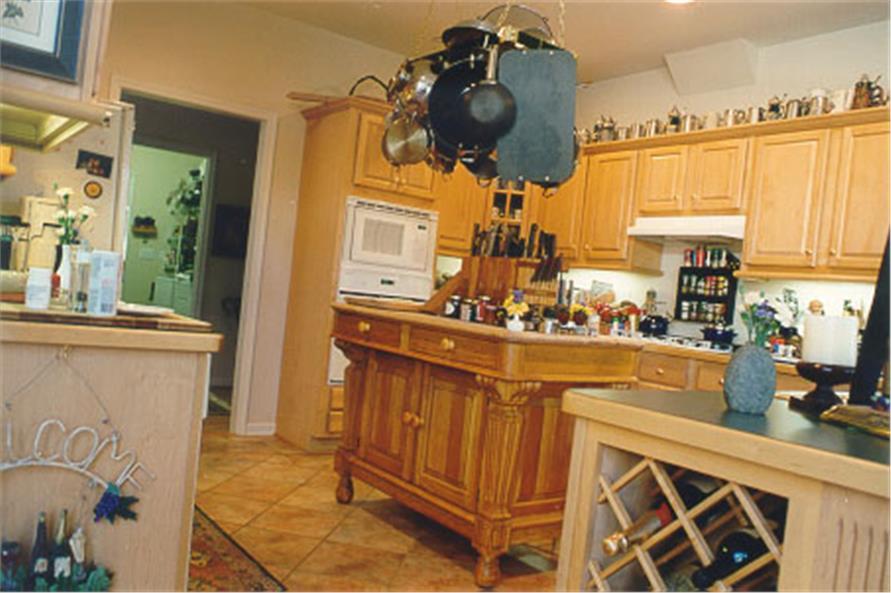 104-1018: Home Interior Photograph-Kitchen