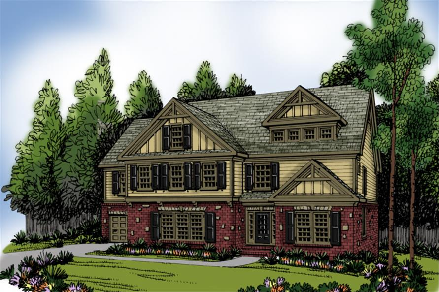 Main image for house plan # 20241