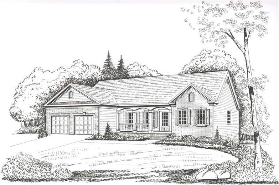 House Plan Shelby Front Elevation