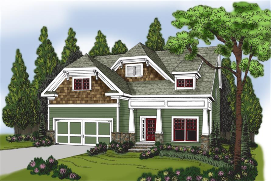 104-1024: Home Plan Rendering