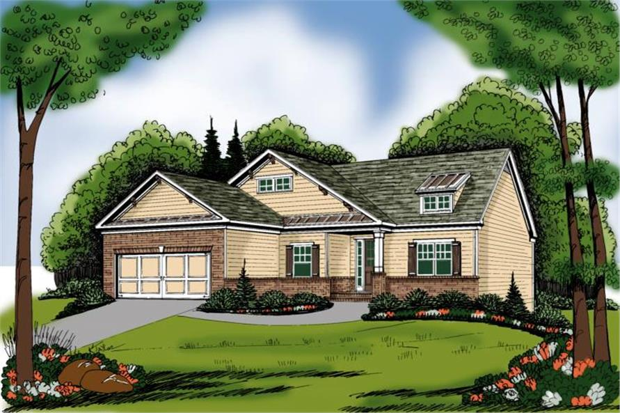 Main image for house plan # 17059