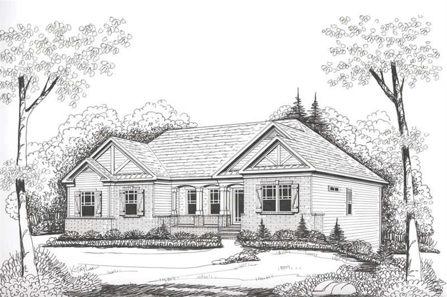 House Plan Carolina Front Elevation
