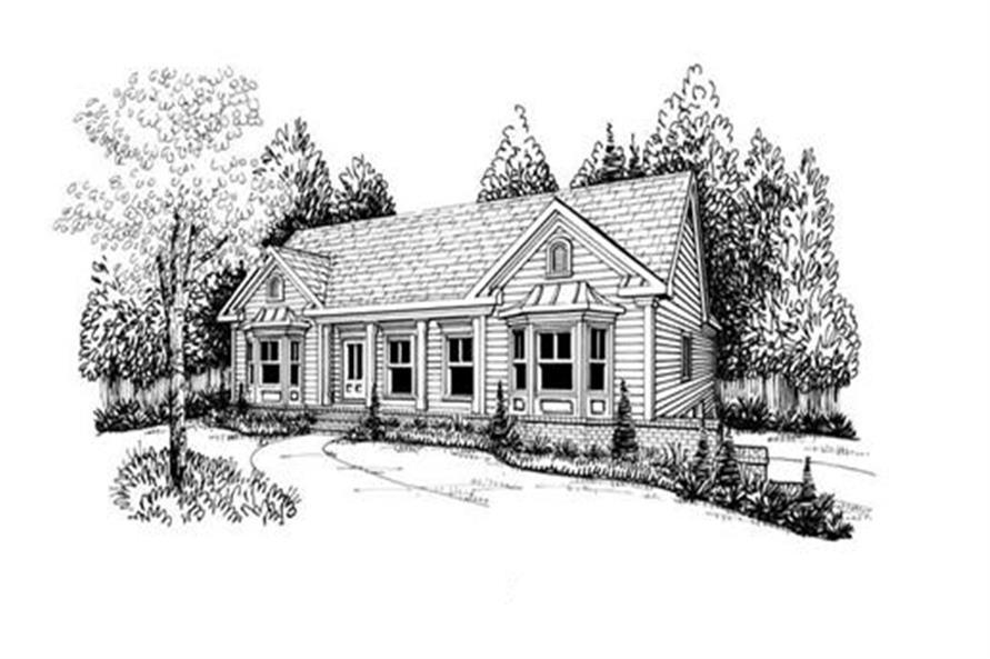 104-1031: Home Plan Rendering