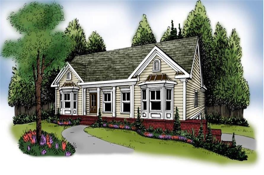 Main image for house plan # 17214