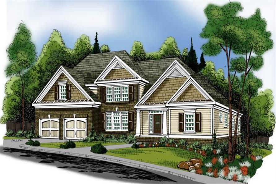 104-1040: Home Plan Rendering