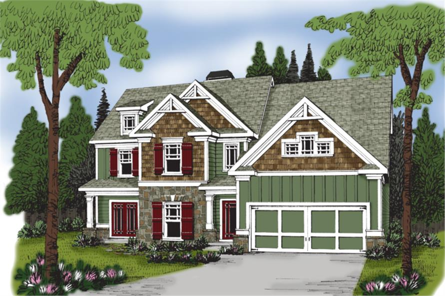 104-1041: Home Plan Rendering