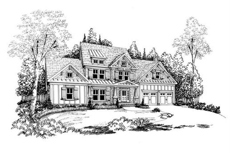 104-1042: Home Plan Rendering