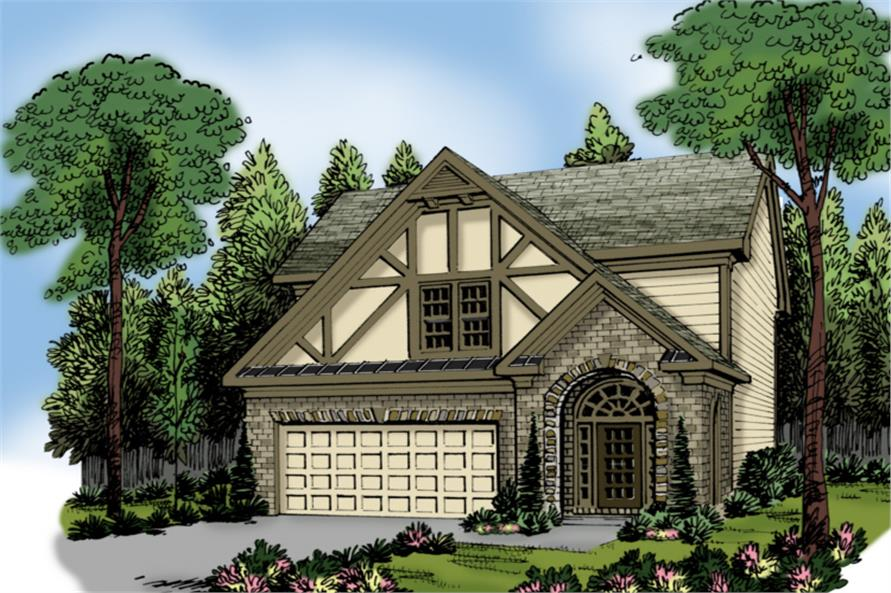 Main image for house plan # 20260