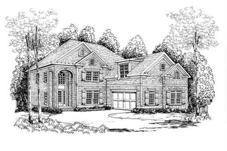 104-1045: Home Plan Rendering