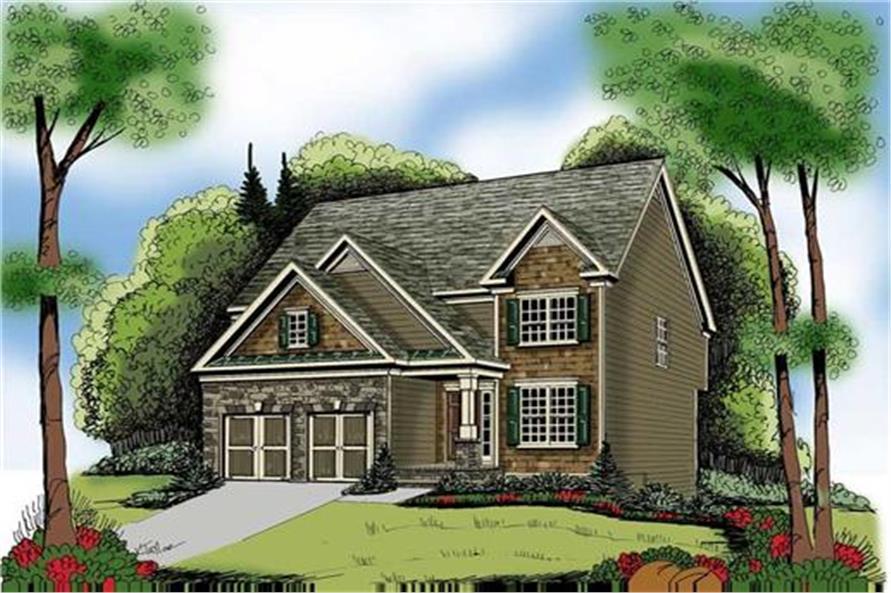 104-1047: Home Plan Rendering