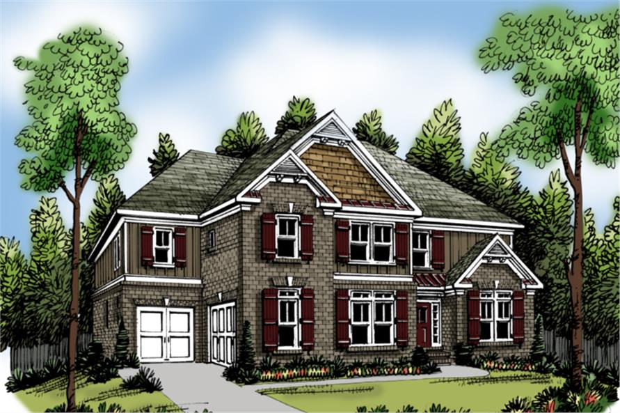 Main image for house plan # 20224