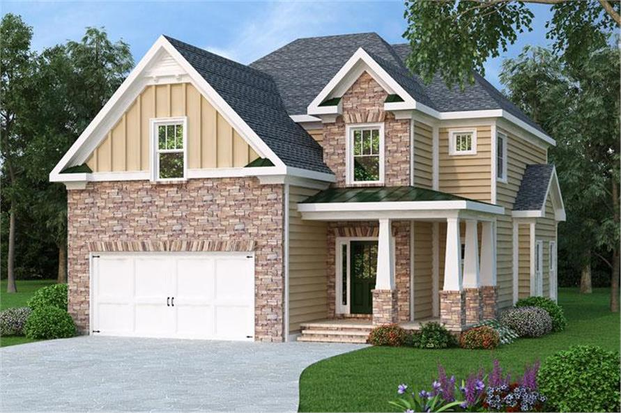 Main image for house plan # 20271