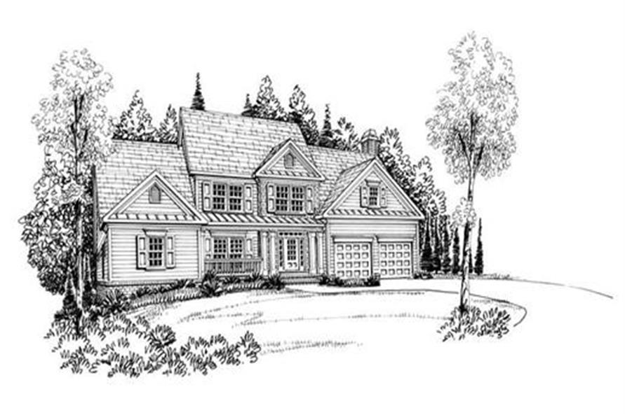 House Plan Harrison Front Elevation
