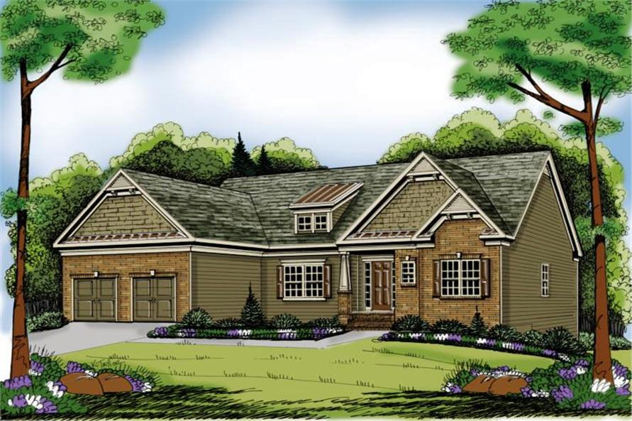 Main image for house plan # 17130