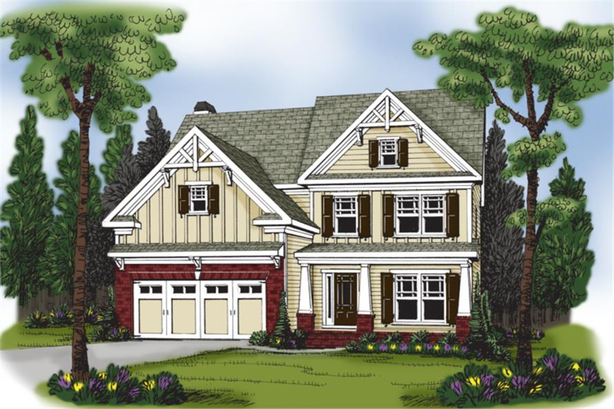 104-1061: Home Plan Rendering