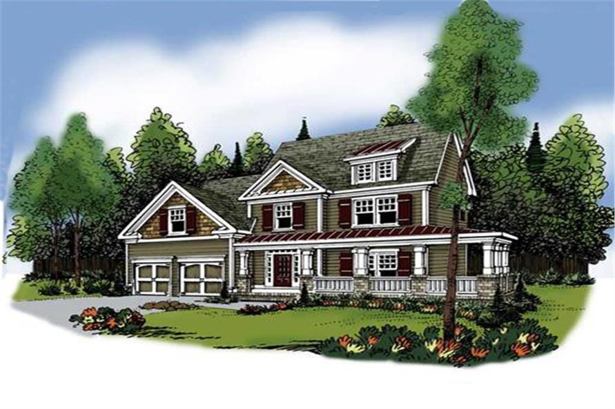 104-1062: Home Plan Rendering