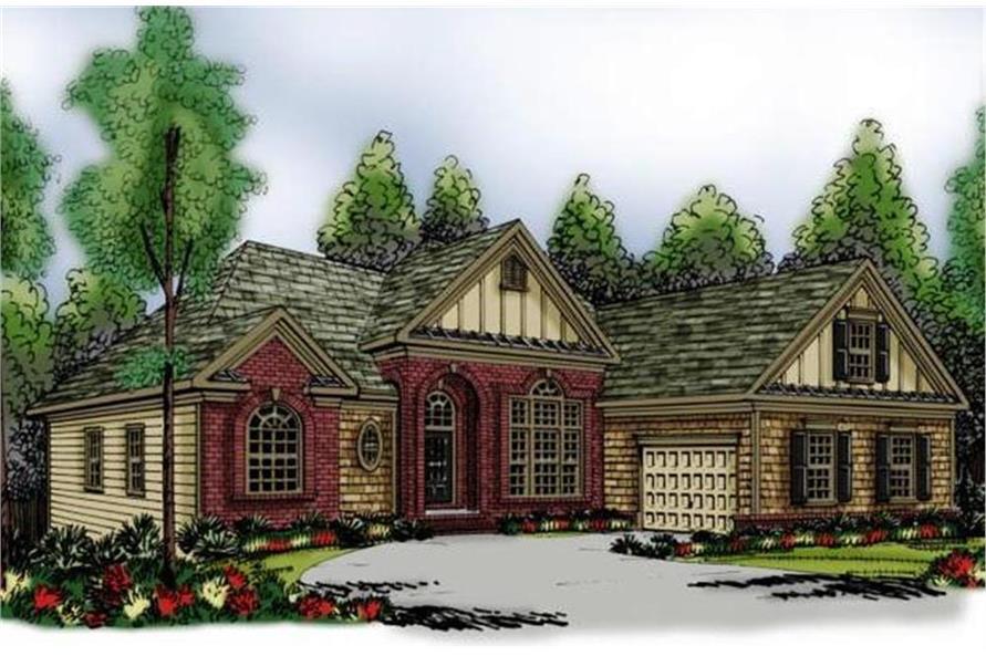 104-1065: Home Plan Rendering