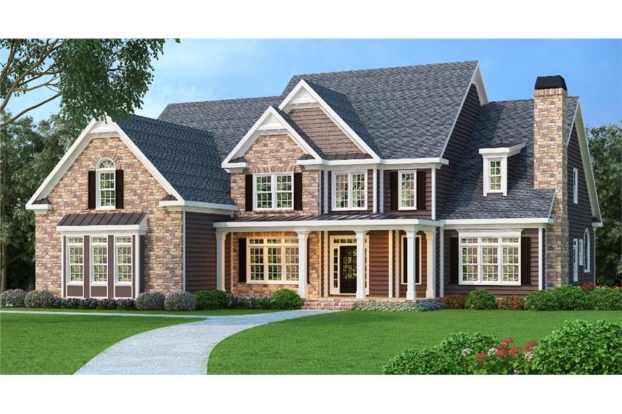 104-1067: Home Plan Rendering