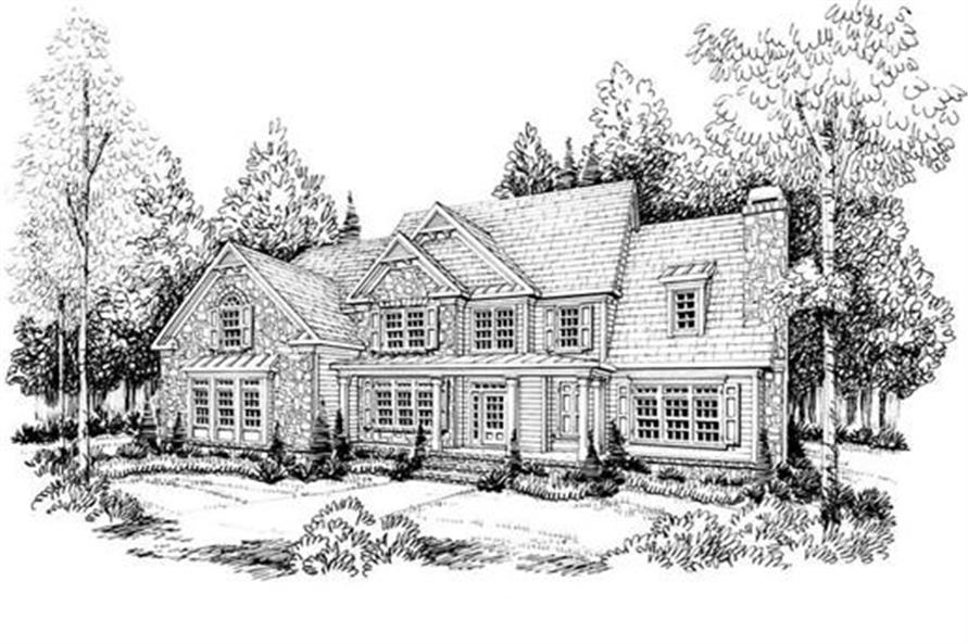 House Plan AG-Shelton Front Elevation