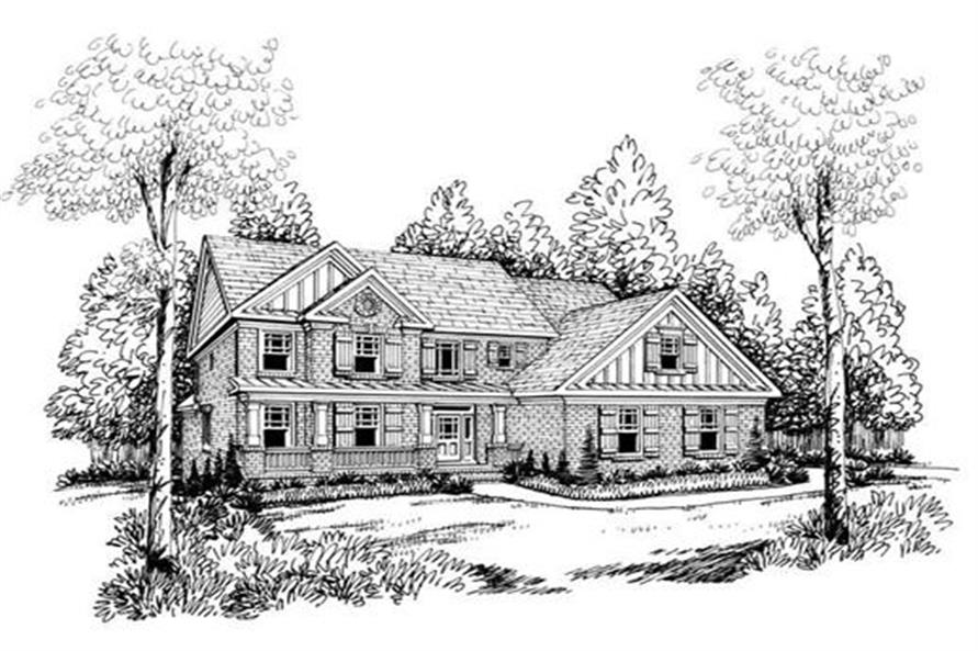 House Plan AG-Nalley Front Elevation
