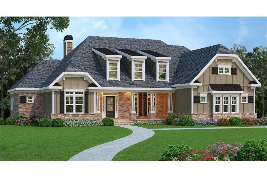 104-1070: Home Plan Rendering