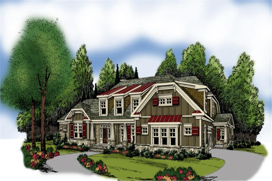 Main image for house plan # 17209
