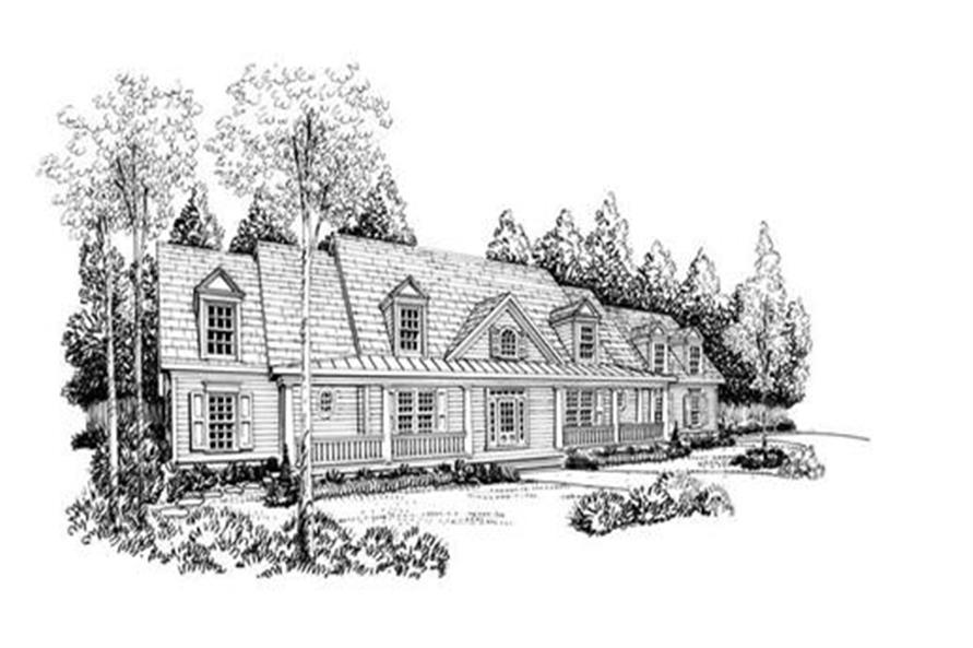 House Plan Barrington Front Elevation