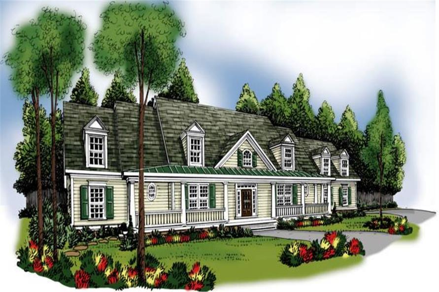 Main image for house plan # 17171