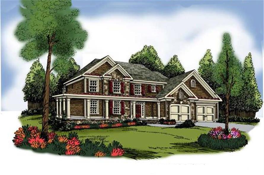 104-1079: Home Plan Rendering
