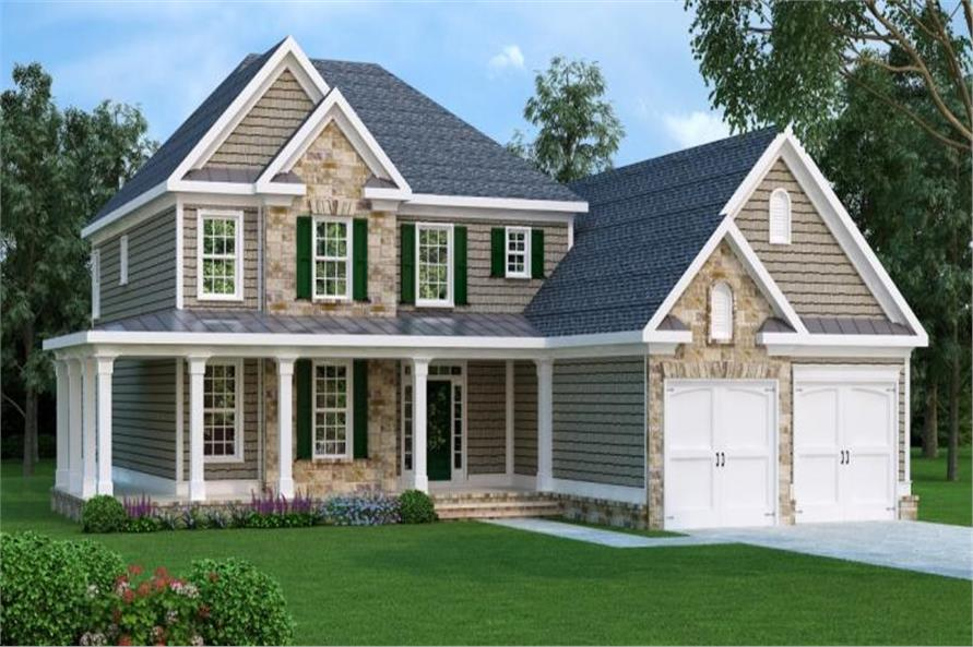 Main image for house plan # 17179