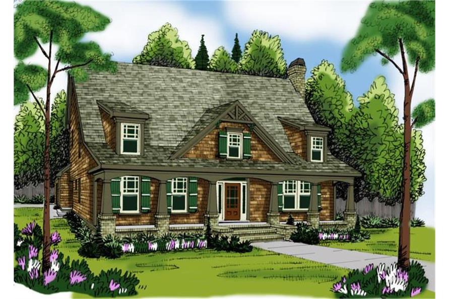 104-1084: Home Plan Rendering