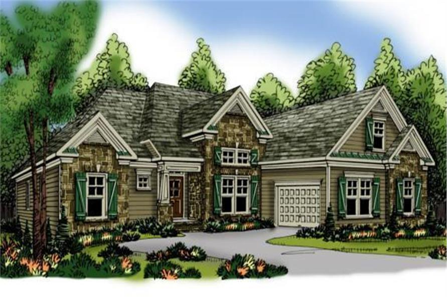 Main image for house plan # 17210