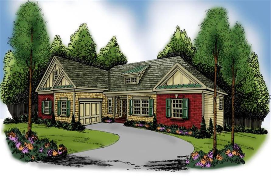Main image for house plan # 17202