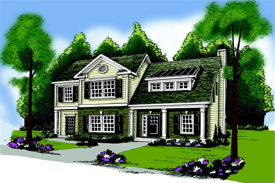 Main image for house plan # 17159