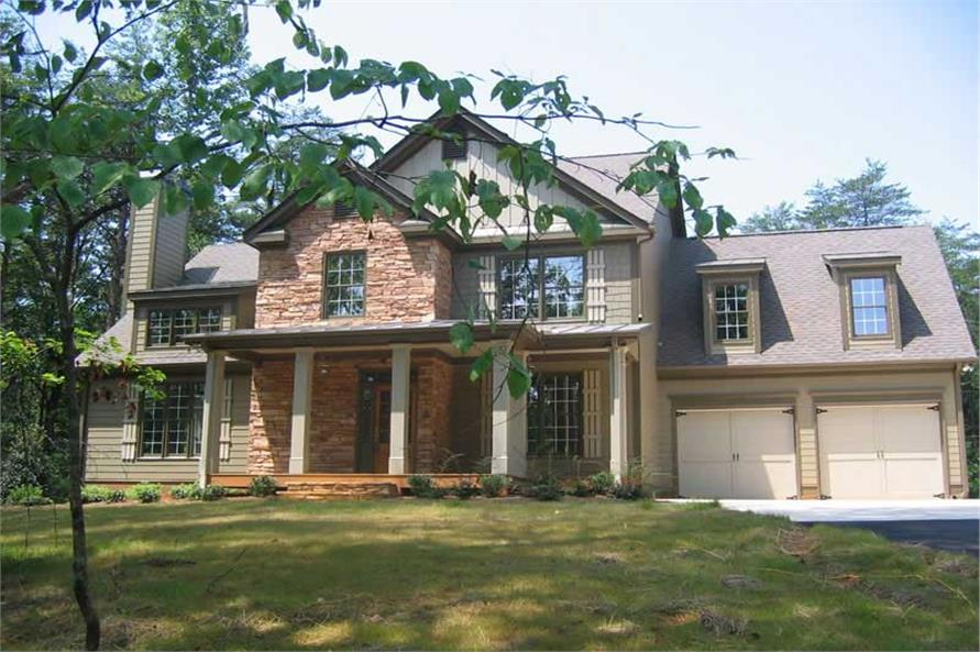 House Plan Jackson Exterior Photograph