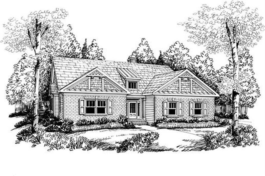 House Plan Anniston Front Elevation