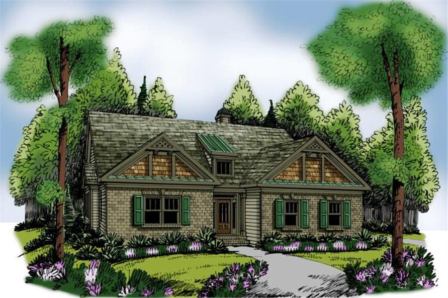 Main image for house plan # 17216