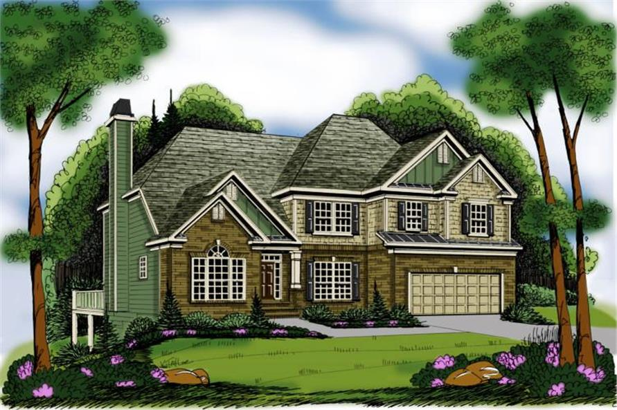 Main image for house plan # 17139
